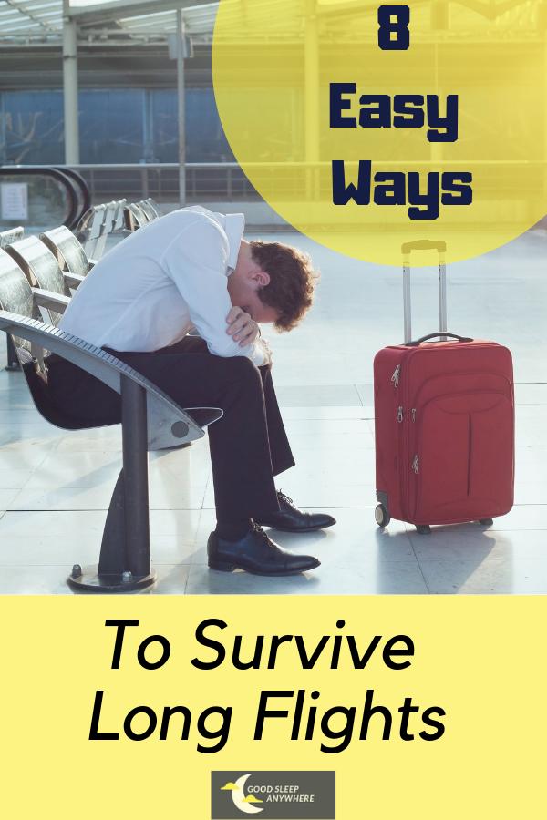 8 Easy Ways to Survive Long Flights