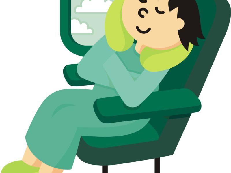How to Get Sleep on a Long-Haul Flight