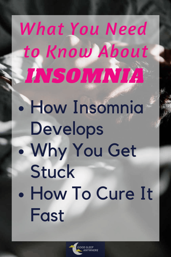 How insomnia develops and how to cure it fast