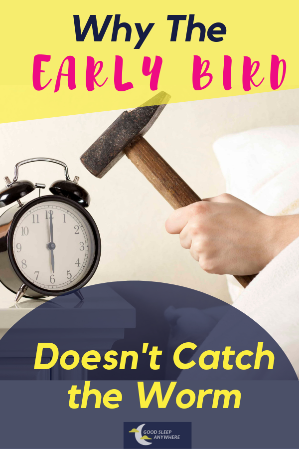 Why the early bird doesn't catch the worm