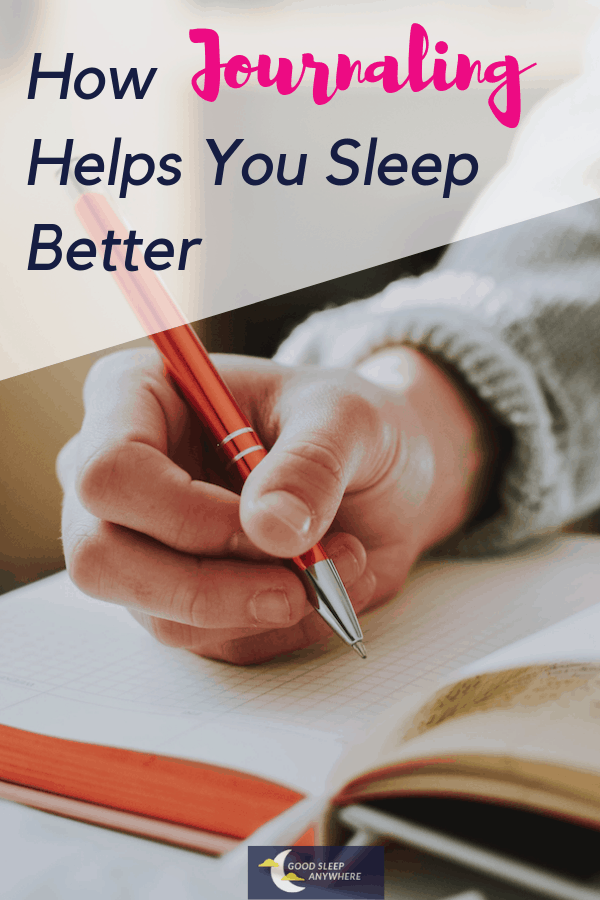 How journaling helps you sleep better