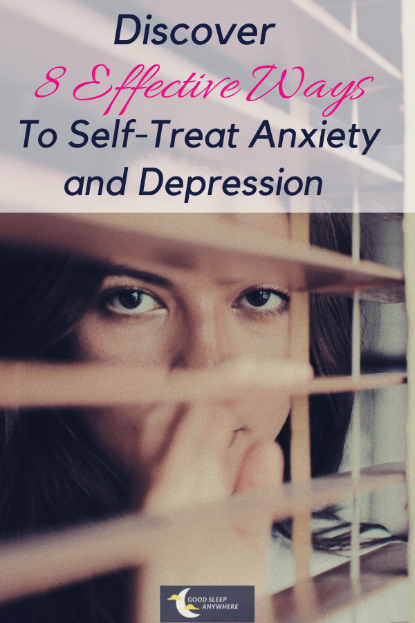 Discover 8 effective ways to self-treat anxiety and depression