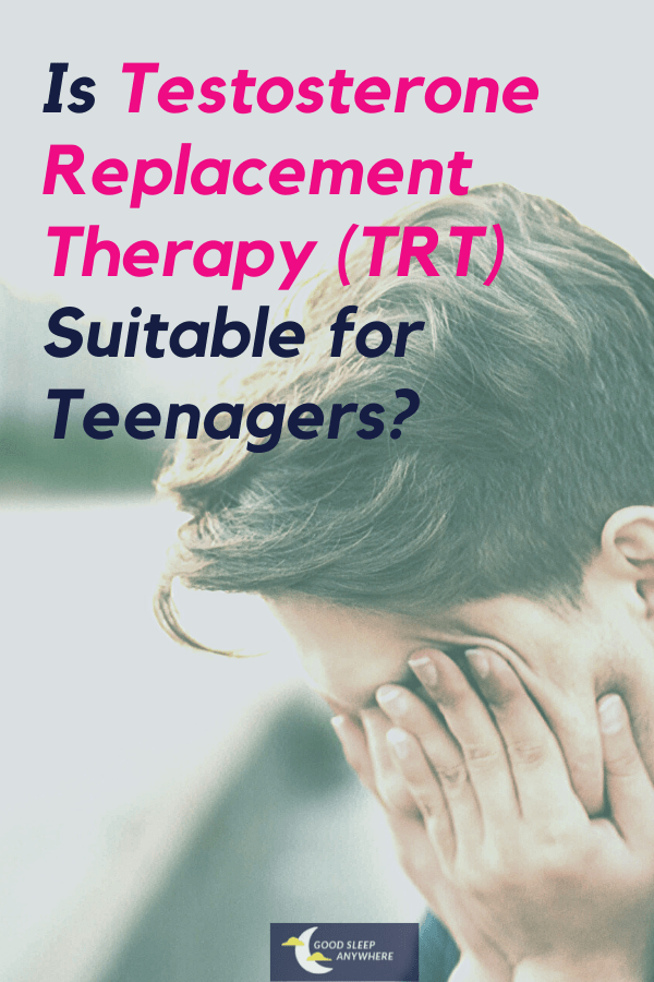 testosterone replacement therapy for teenagers