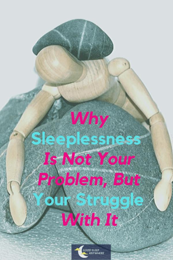 Struggle with sleeplessness