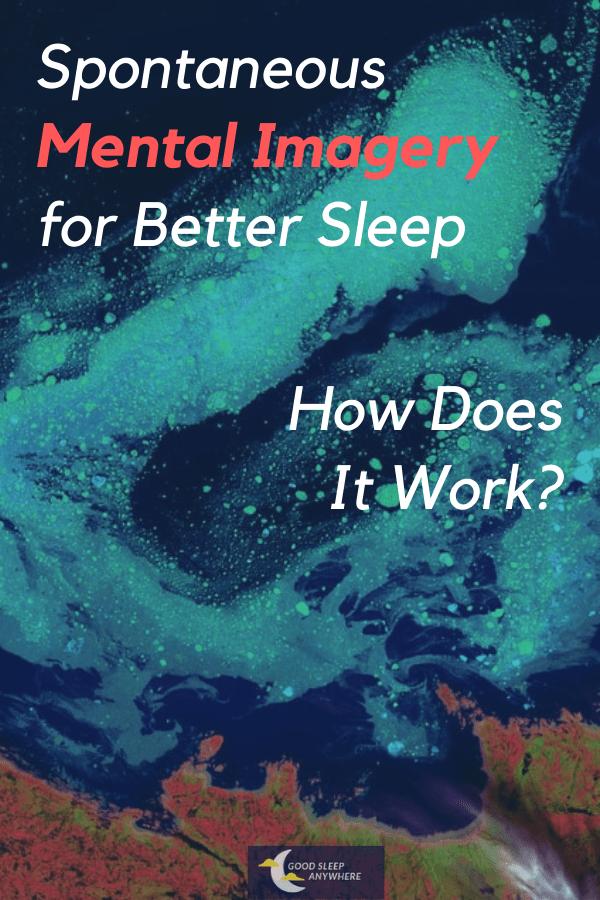 Spontaneous mental imagery for sleep